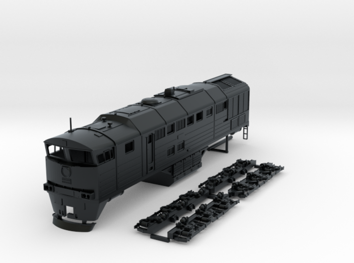 TT Scale 2TE-116 3d printed