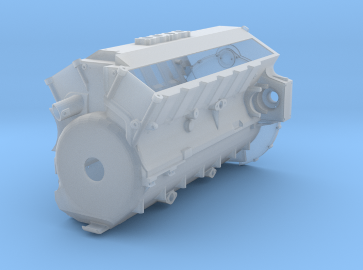 1/16 Maybach HL 120 TRM Main Engine Block 3d printed