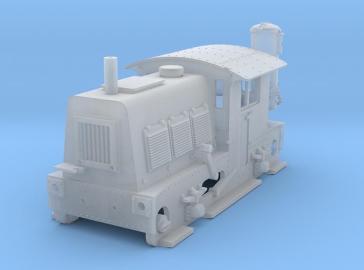 N SIK NS 200-300 locomotor met houtgasgenerator 3d printed
