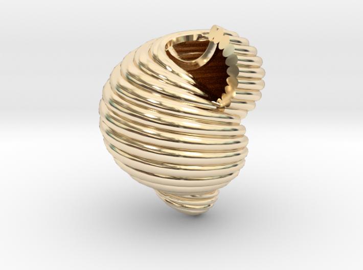 Shell n°2 3d printed