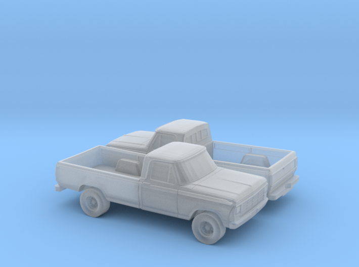 1/160 2X 1979 Ford F-Series 3d printed