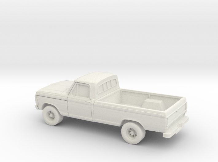 1/72 1979 Ford F Series Reg Cab 3d printed