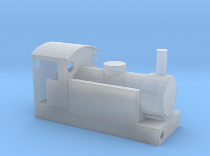 009 Narrow Gauge Locomotive Bodyshell 3d printed +