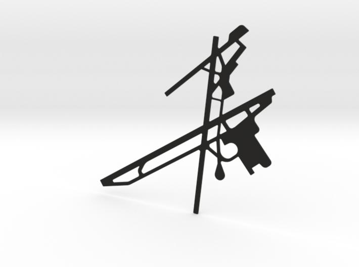 Airport-Fornebu-FBU 3d printed