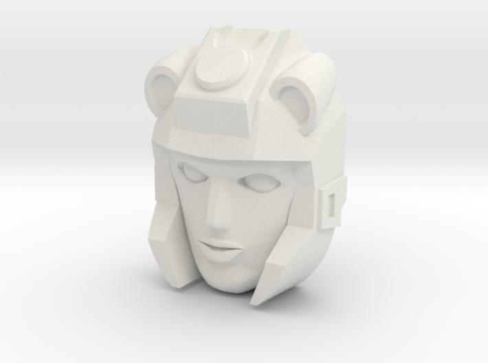 Moonracer Face (Titans Return) 3d printed