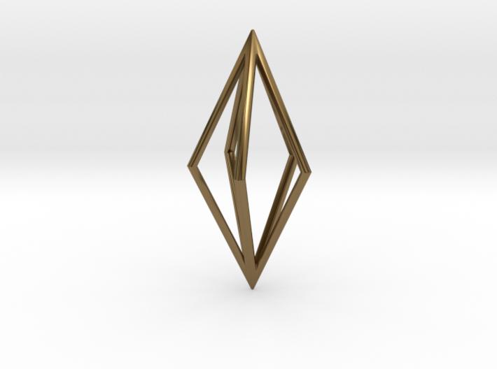 Diamond Pendant mk1 3d printed