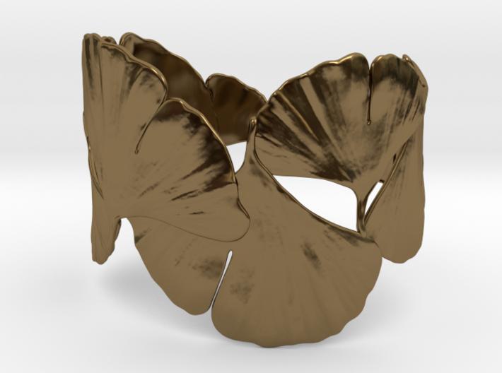 Ginko Bracelet size M,L,XL 3d printed