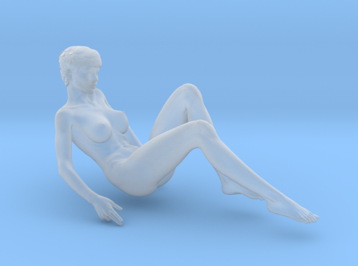 1/32 Girl sitting Chair Part of Girl 017 3d printed