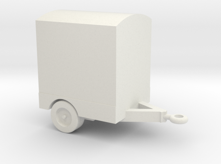 1/144 Scale Power Distribution Trailer 3d printed