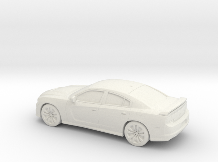 1/87 2012 Dodge Charger SRT 3d printed