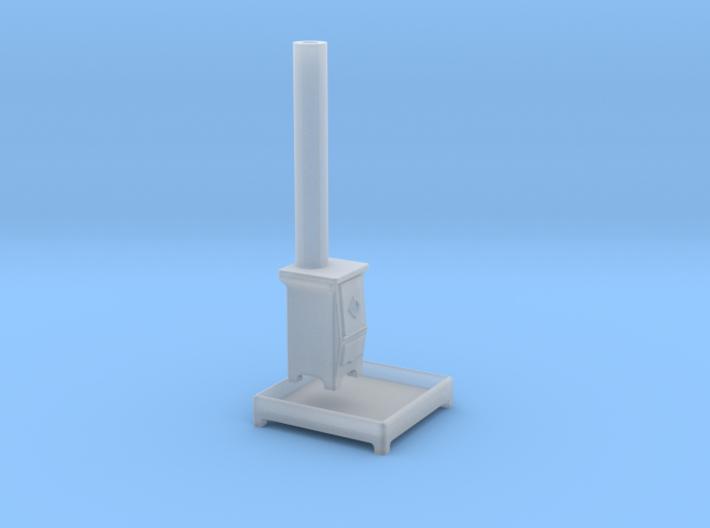 EP74 Stove and base 3d printed