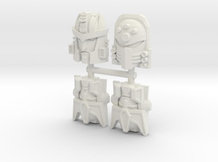 Beast Wars Face 4-Pack (Titans Return) 3d printed