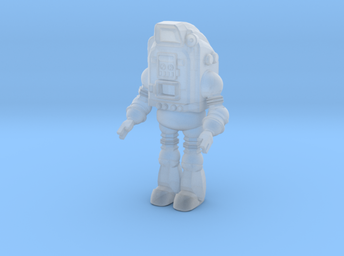 1-87 Scale Pop-Bot 3d printed