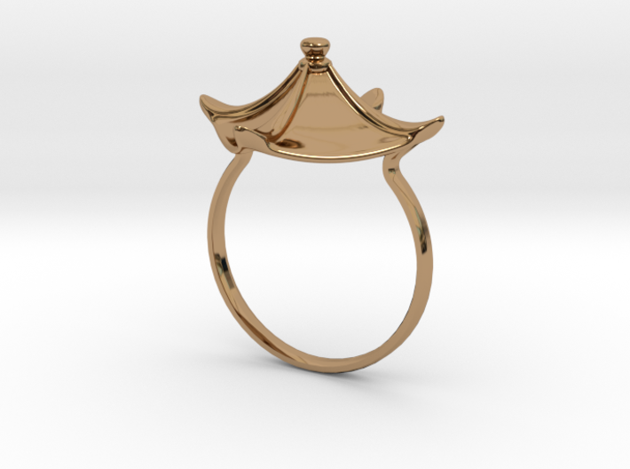 Chinese Roof ring 3d printed