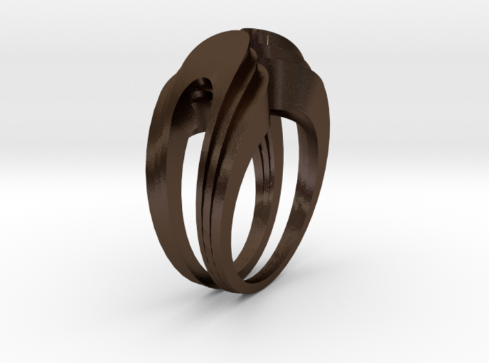 Deco.F ring 3d printed