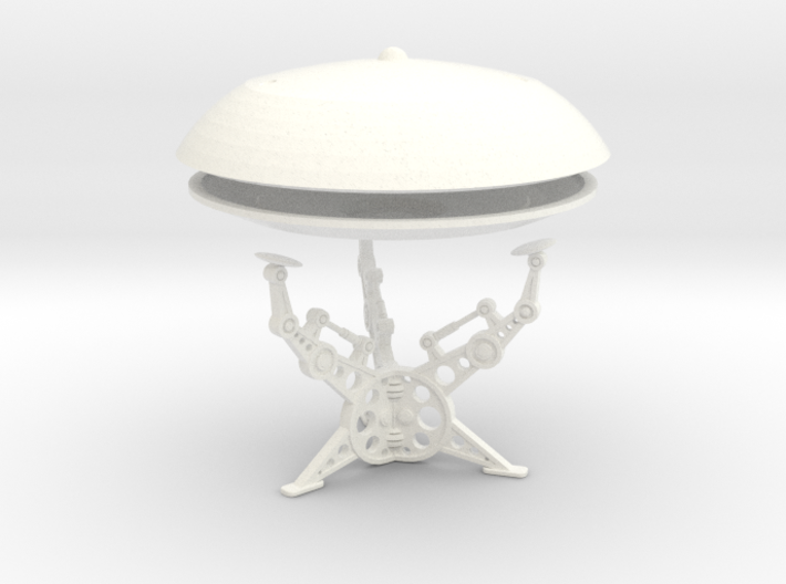 (2 & 1/2 inch diameter) Jupiter 7 Model with stand 3d printed