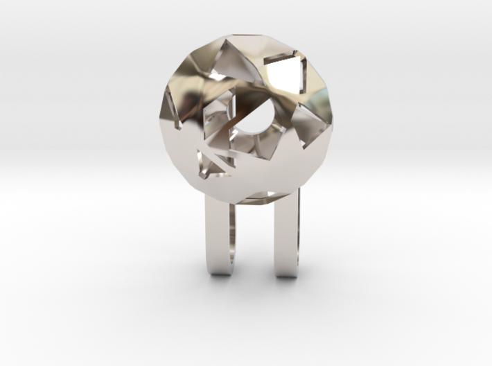 Tiny Phone Lamp - Diamond - S 3d printed