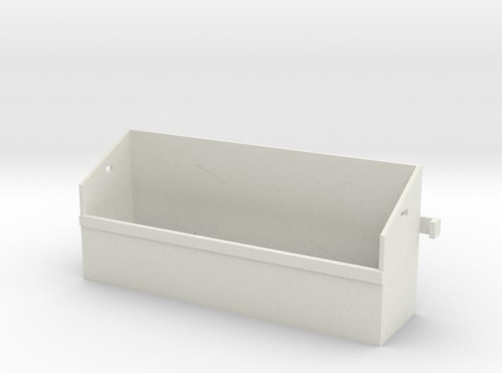1/16 Pz IV Spare Wheel Box 3d printed