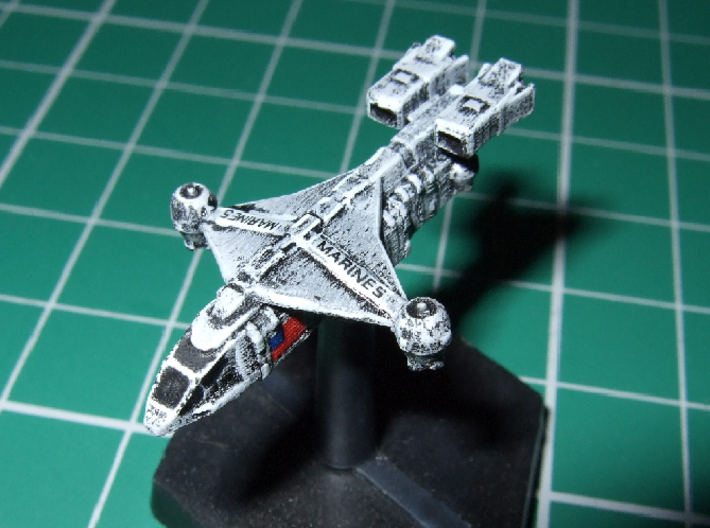 "1/1000 Scale ISSCV ""Dragonfly"" 3d printed Scouls502 says: Excellent model."