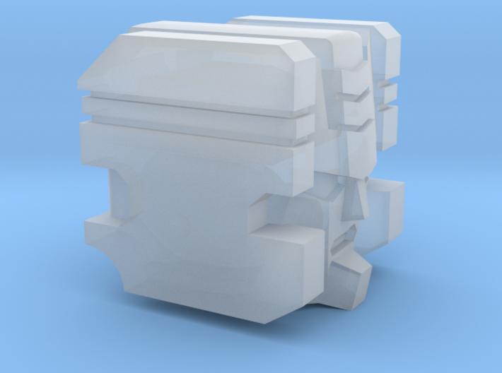 Aerial Guardian Head 3d printed