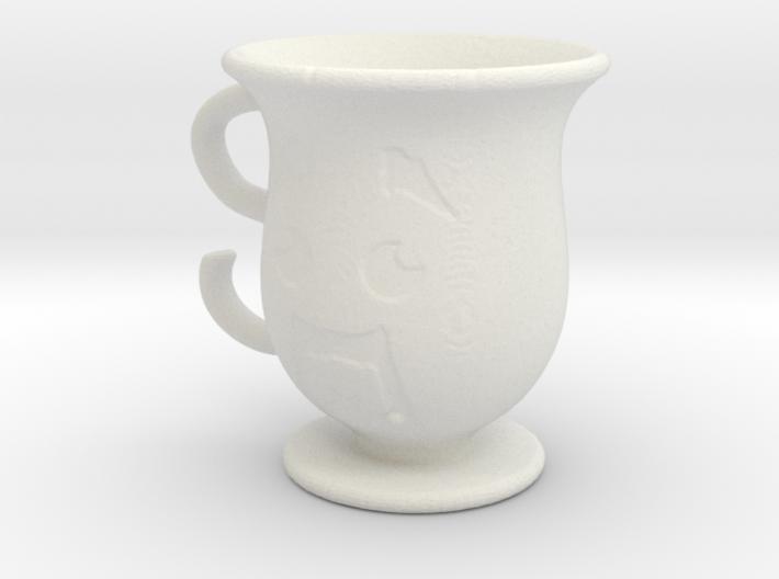 Steve Head Cup 3d printed