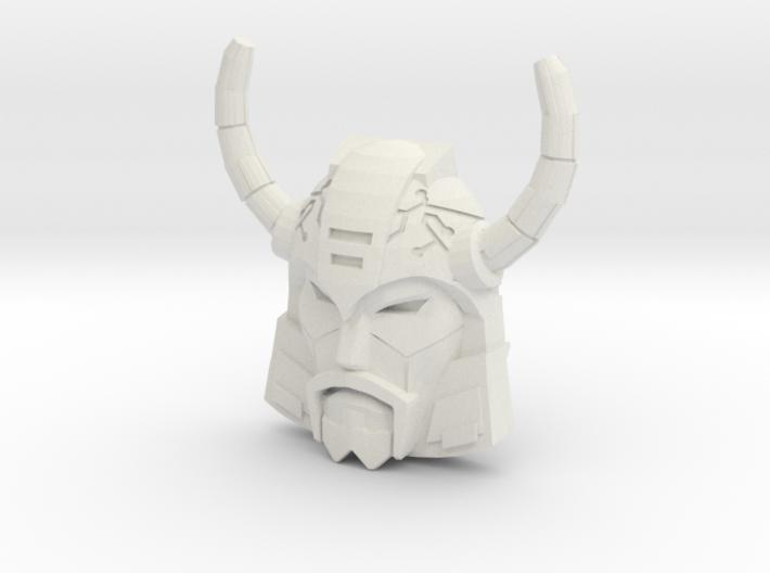Unicron Face (Titans Return) 3d printed