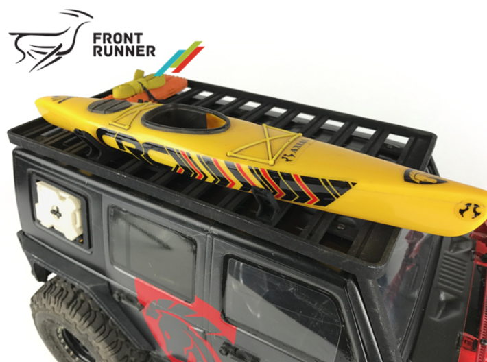 FR10005 Front Runner Canoe Carrier 3d printed Shown fitted supporting Canoe (all other items sold separately)