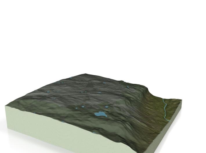 Terrafab generated model Sat Nov 23 2013 00:31:57 3d printed