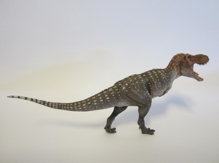 Tyrannosaurus rex 1/72 Krentz 3d printed White detail painted by Shane Foulkes