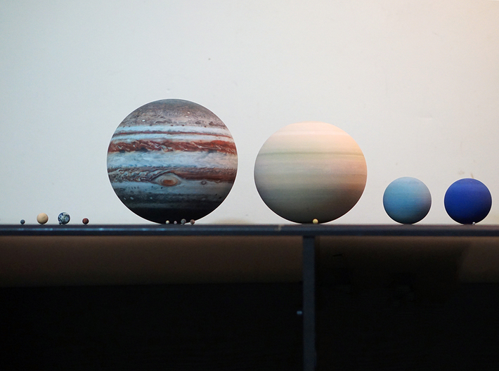 Solar System (Largest Possible) 3d printed