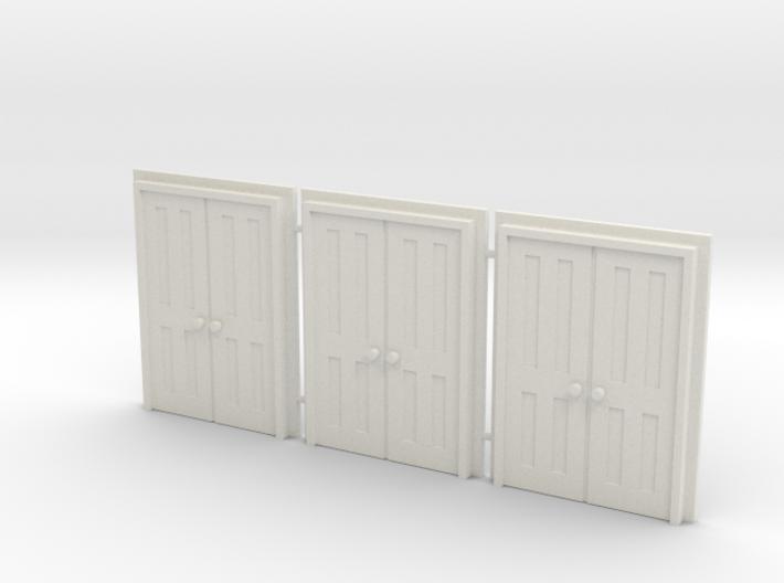 Door Type 9 - 660D X 2000 X 3 3d printed