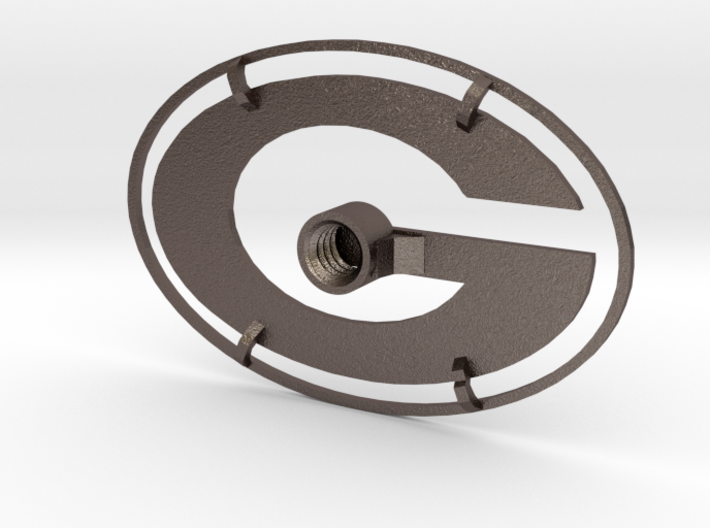 Packers Branding Iron 3d printed