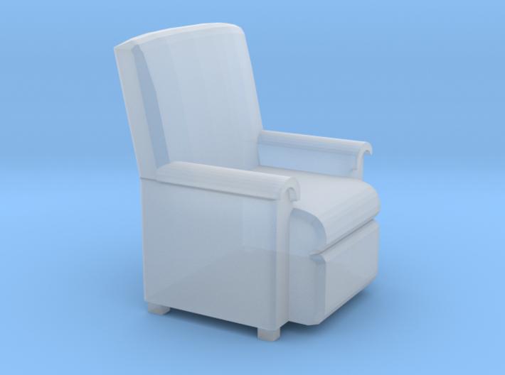 HO Sofa Seat 3d printed
