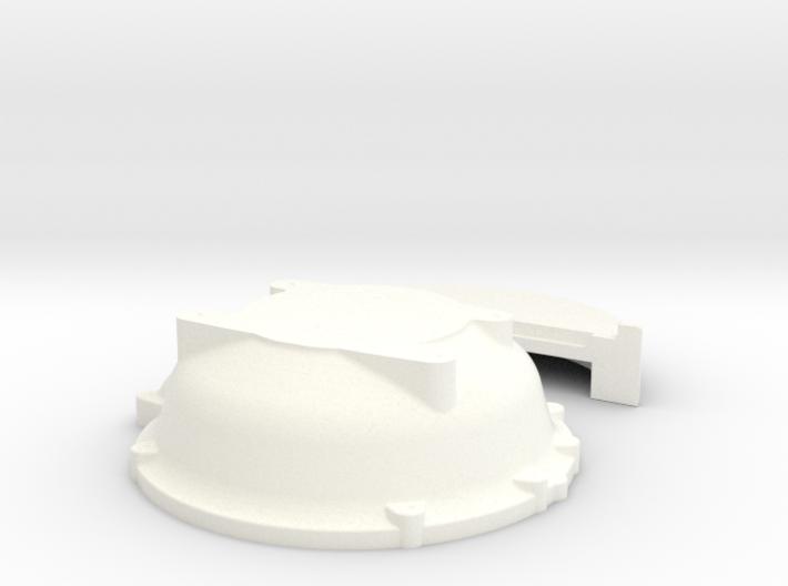 1/16 Buick Nailhead Bellhousing For Muncie Trans 3d printed