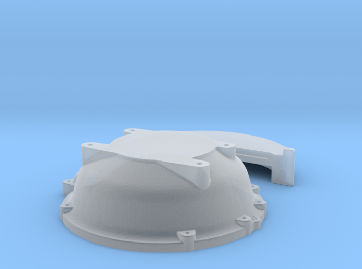 1/32 Buick Nailhead Bellhousing For Muncie Trans 3d printed