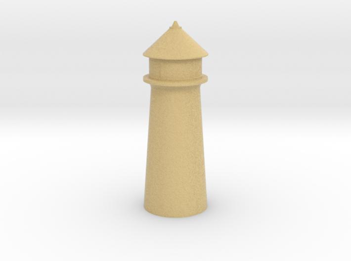 Lighthouse Pastel Orange 3d printed Lighthouse Pastel Orange