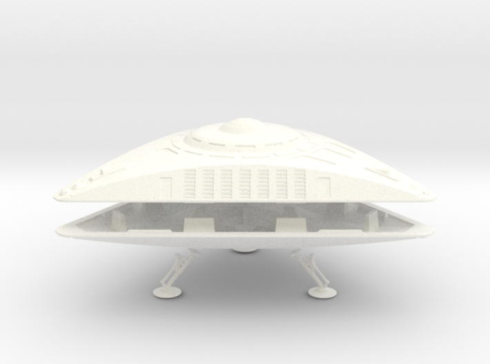 TR-8-BR2-Kit  (AKA Triangular UFO) 3d printed