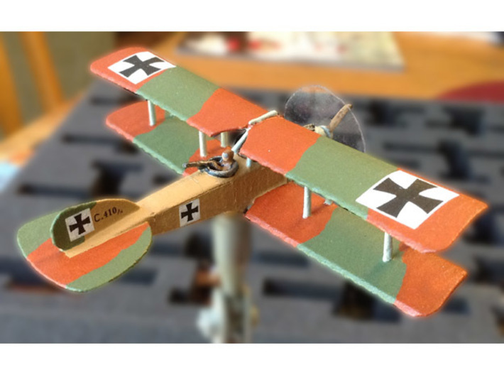 Albatros C.V/16 3d printed Photo & painting courtesy Mike Werner
