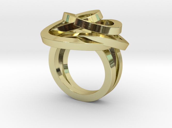Ring Love is in the Air Medium (from $16) 3d printed