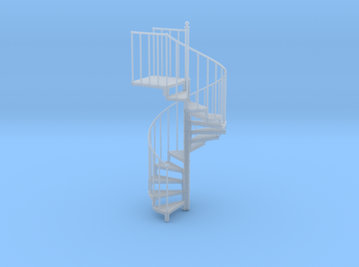 Industrial Spiral Staircase (Clockwise) 3d printed