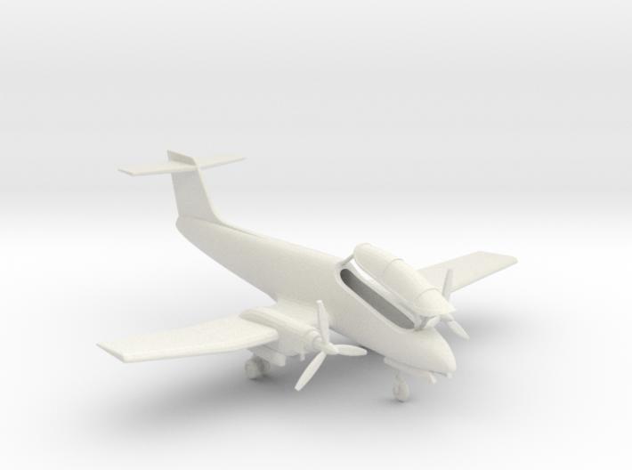 009A IA-58 Pucara 1/144 3d printed