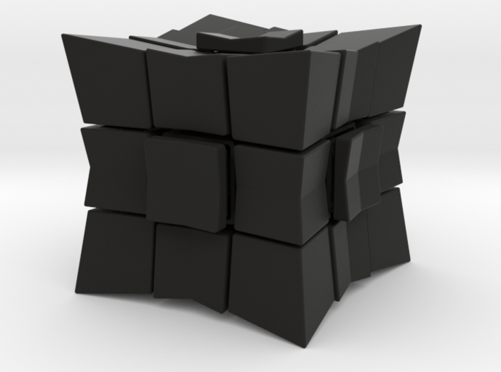 Cube inward 3*3*3 (without spider) 3d printed
