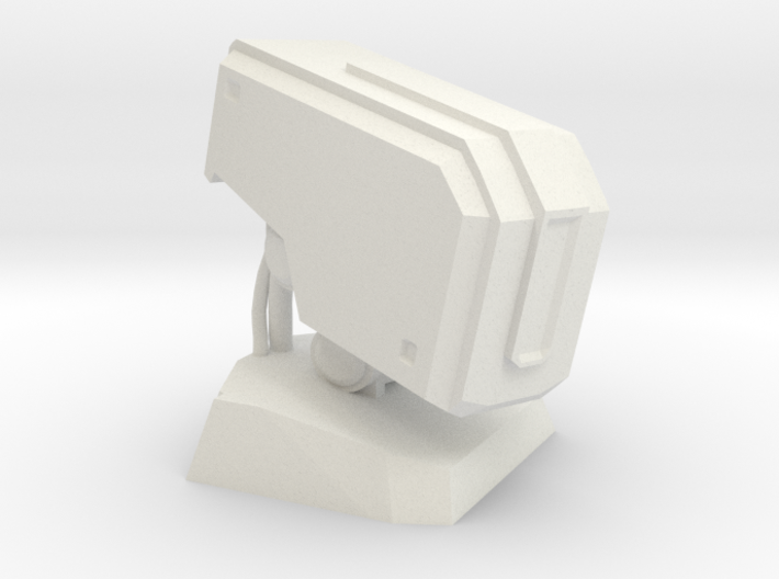 Bastion Head Bust 3d printed