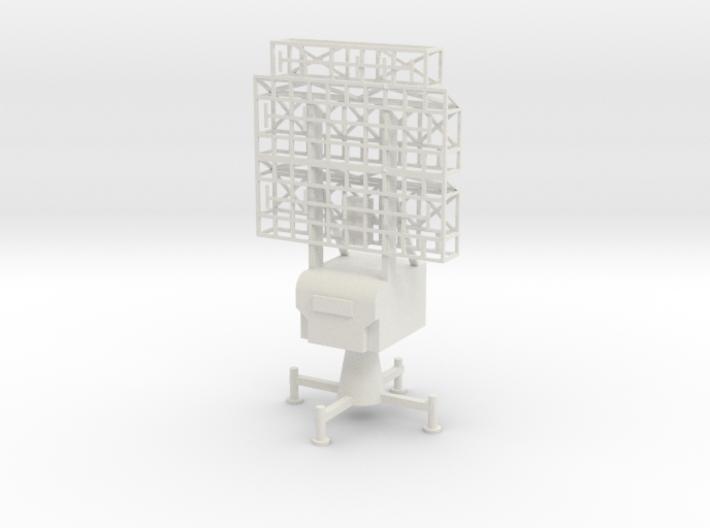 1/72 Scale German Limber Freya Radar 3d printed