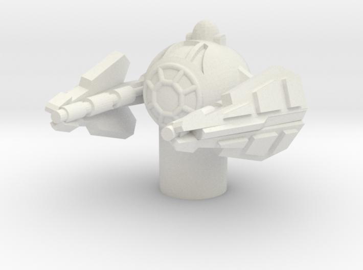 Yoda's Eta-2 Jedi Interceptor 1/270  3d printed