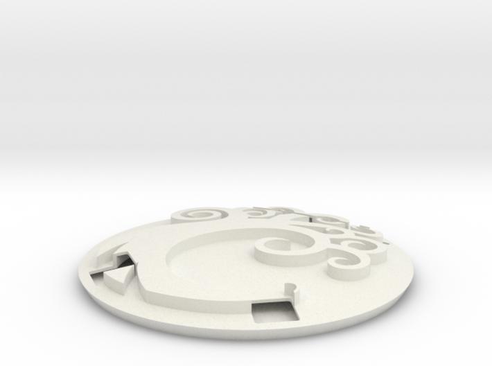 Commander Display Simic 3d printed