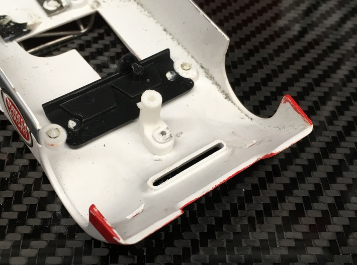 Fly/GB Chevron B19/B21;Slot Car Chassis 3d printed glue on (straight!!)