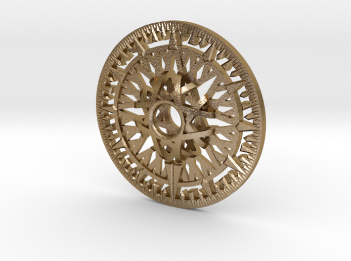 Archimedes Wheel - 6 inch 3d printed