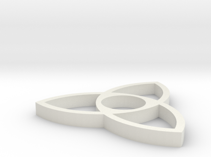 Trinity Knot Spinner 3d printed