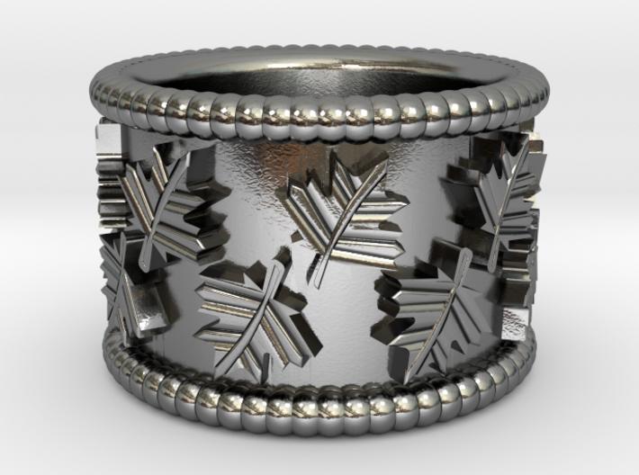 Fall Theme Ring 3d printed